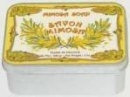 Boite Savon en Métal Mimosa Création Leblanc