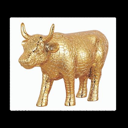 Vache Cow Parade Moyen Modèle Mira Moo Gold