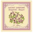 3 Sachets Parfumés Violette Leblanc-France