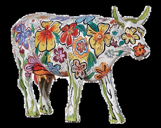 Vache Cow Parade Grand Modèle Vaca Floral