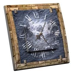 intérrupteur Décoratif Modèle Horloge Ardoise