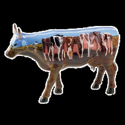 Vache Cow Parade Grand Modèle  The Tank