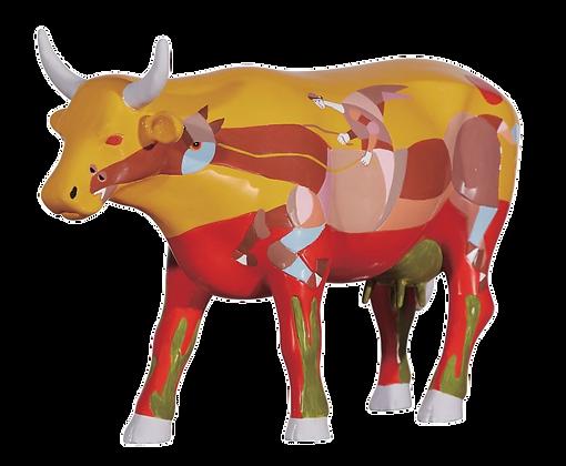Vache Cow Parade Grand Modèle No Rumo Da Vente