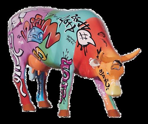 Vache Cow Parade Grand Modèle Vaquinha do Hip Hop