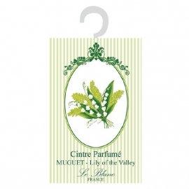 3 Cintres Parfumés Création Leblanc Modèle Muguet