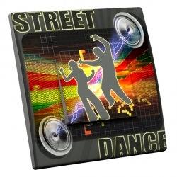 intérrupteur Décoratif Modèle Street Dance