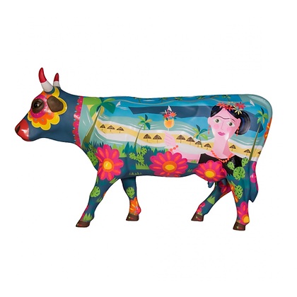 Vache Cow Parade Grand Modèle Frida