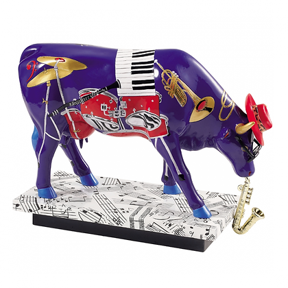 Vache Cow Parade Grand Modèle  In The Mood