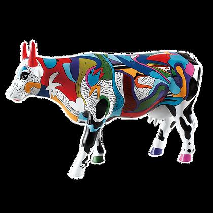 Vache Cow Parade Grand Modèle Ziv's Udderly Cool Cow