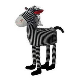Doudou Les Petites Marie NOA le zebre