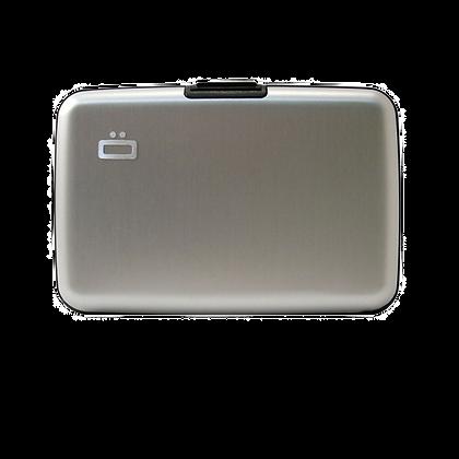 Porte Cartes Ogon Design Gamme Aluminium Classique Silver