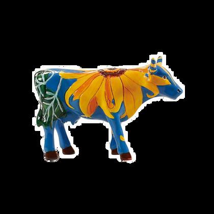 Vache Cow Parade Petit Modèle Udderly Sun Flowers