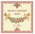 3 Sachets Parfumés Rose Leblanc-France