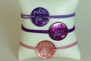 Bracelet Nacre Petite Fille Petite Fée