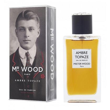 Parfum Mister Wood Senteur Ambre Topaze