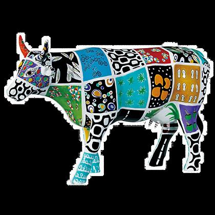 Vache Cow Parade Grand Modèle Cowcado de Impanema