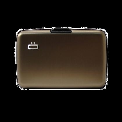 Porte Cartes Ogon Design Gamme Aluminium Classique Dark Grey