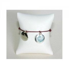 Bracelet Maman Médaille Argent Personnalisée Mon Cadeau Préféré