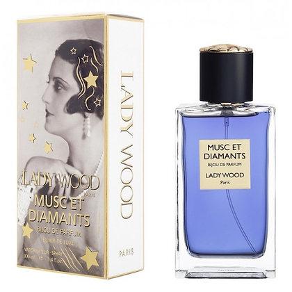 Parfum Lady Wood Senteurs Musc et Diamants
