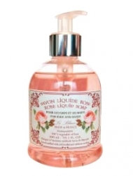Savon Liquide Parfum Rose Création Leblanc