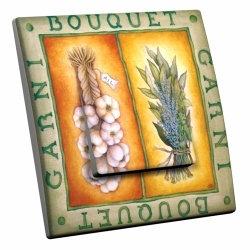 intérrupteur Décoratif Modèle Bouquet Garni