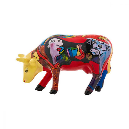 Vache Cow Parade Modèle Picowso African Period