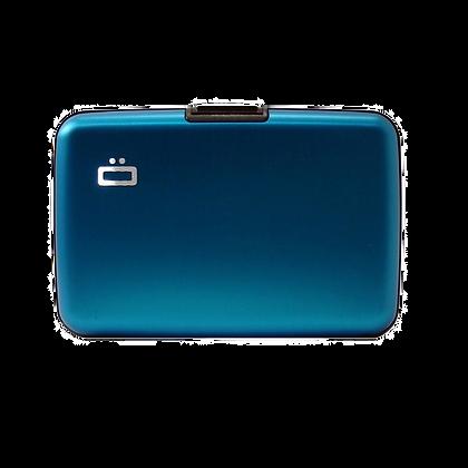 Porte Cartes Ogon Design Gamme Aluminium Classique Turquoise