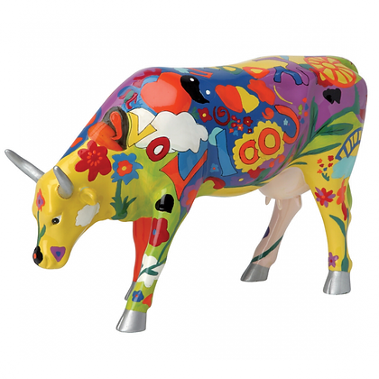 Vache Cow Parade Grand Modèle Groovy