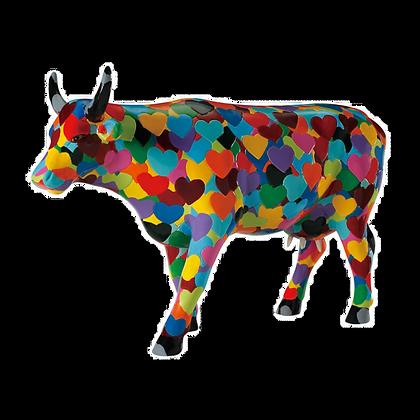 Vache Cow Parade Grand Modèle Heartstanding Cow