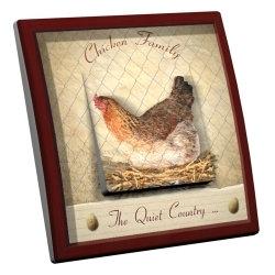 intérrupteur Décoratif Modèle Chicken Family