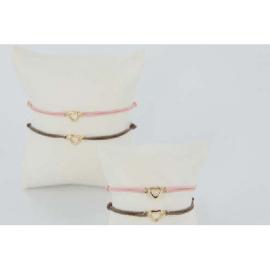 Bracelet Plaqué Or Coeur Mon Cadeau Préféré