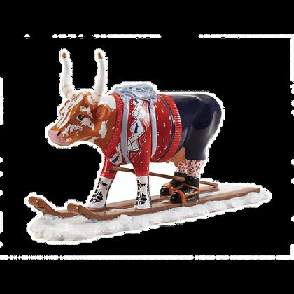 Vache Cow Parade Moyen Modèle Ski Cow