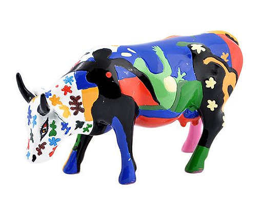 Vache Cow Parade Moyen Modèle A La Mootise