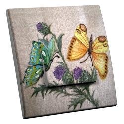 intérrupteur Décoratif Modèle Papillons