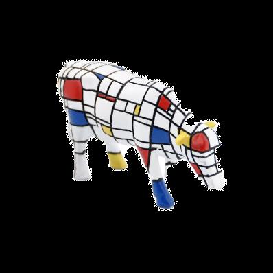 Vache Cow Parade Petit Modèle Moondriaan