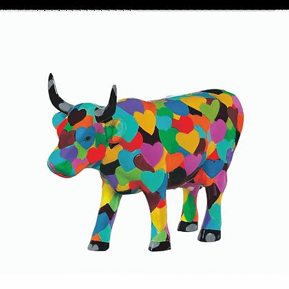 Vache Cow Parade Moyen Modèle Heartstanding