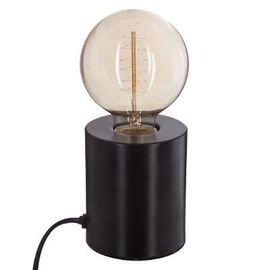 Lampe Métal tube Noir