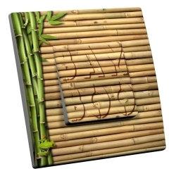 intérrupteur Décoratif Modèle Bamboo