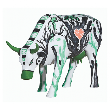 Vache Cow Parade Grand Modèle Manda Cowru