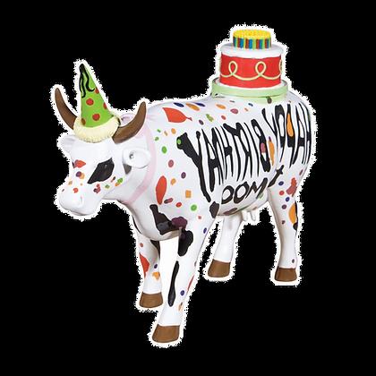 Vache Cow Parade Grand Modèle Happy Birthday