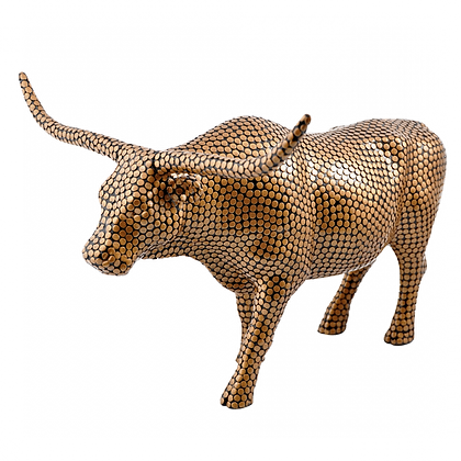 Vache Cow Parade Grand Modèle The Penny Bull