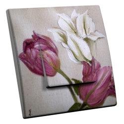 intérrupteur Décoratif Modèle Tulipes