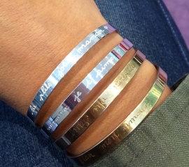Bracelet Argent Jonc Mon Cadeau Préféré