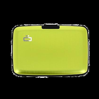 Porte Cartes Ogon Design Gamme Aluminium Classique Green Lime