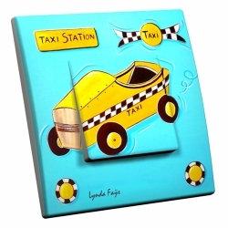 intérrupteur Décoratif Lynda Fays Modèle Yellow Cab