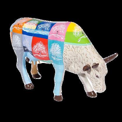 Vache Cow Parade Grand Modèle Tree of Life