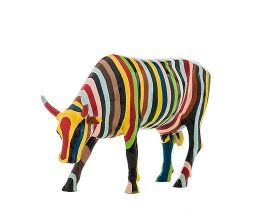 Vache Cow Parade Grand Modèle Striped Cow