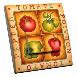 intérrupteur Décoratif Modèle Tomates