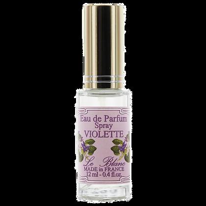 Eau de Parfum Leblanc 12ml Vaporisateur de Sac Violette