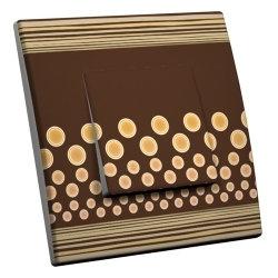 intérrupteur Décoratif Modèle Chocolat Vanille